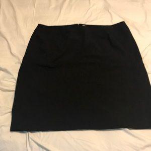 Black a line skirt. Calvin Klein 18W